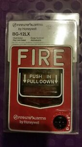 Fire Lite Bg 12lx Intelligent Addressable Fire Alarm Pull Station New