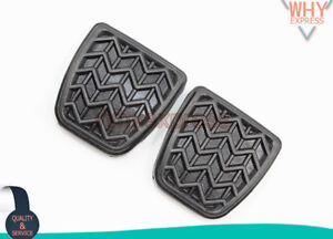 Oem New 2pcs Clutch Brake Pedal Pad Rubber For Toyota Scion Camry 3132152010