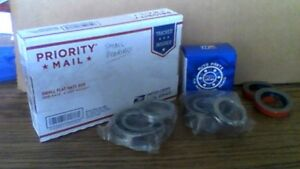 2sets Ford 9 Rear Axle Large Bearing 88128ra 514003 W Seal Any Spline
