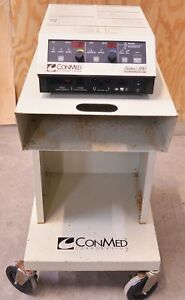 Conmed Sabre 180 Electrosurgical Unit Biomed Machine Surgical W Foot Pedal