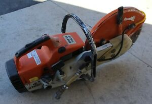 Stihl Model Ts 400 Cut off Saw Ts400 14 Concrete Saw W 14 Blade And Water Line