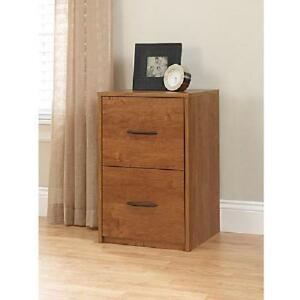 New Home Office Furniture 2 Drawer Wooden File Premium Cabinet Storage Ameriwood