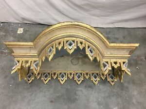 19th C Italian Silver And Gold Parcel Gilt Bed Corona