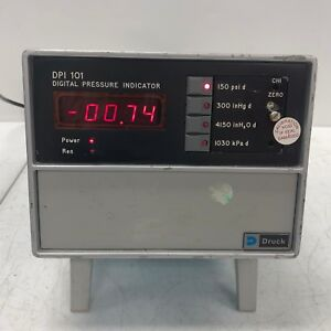 Druck Dpi 101 2 chan Digital Pressure Indicator Tested 2