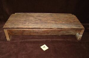 Primitive Nail Holder Hardware Box Vanity Make Up Desk Dresser Craft Storage A