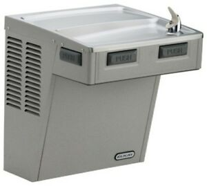 Elkay Emabfd Ada Wall Mount Single Level Drinking Fountain With Mechanical Push