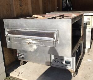 Middleby Marshall Conveyor Double Pizza Nacho Oven Natural Gas