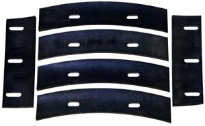 Stone 22112 Mortar Mixer Rubber Blades For 4 Cubic Feet Mixer