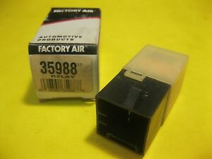 nos Vintage Factory Air Radiator Fan Controller Relay 35988 Fast Ship