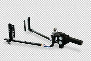 Fastway Trailer 94 00 1061 E2 10k Round Bar Weight Distributing Hitch
