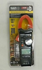 Klein Tools 400a Ac Auto ranging Digital Clamp Meter Cl210
