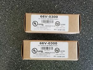 2 New In Box 66v 0300 Opw One time Use Breakaway 3 4 New