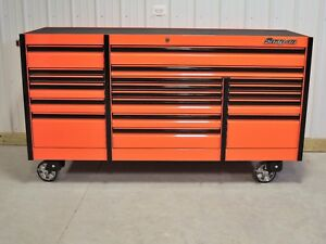 Snap On Orange 84 Epiq All Drawer Tool Box Toolbox Armor Edge Power Top