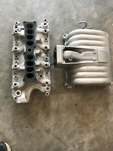 5 0l Upper And Lower Fuel Injection Intake Ford Mustang 302ci