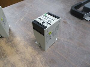 Sentrol Industrial Safety Gate Relay Int 03 120 24vdc 120 230vac 50 60hz Used