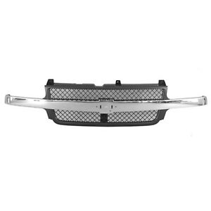 Grill Assembly For 2001 2002 Chevrolet Silverado 2500 Hd Silverado 3500 Grille