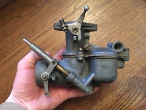 Vintage Tillotson Model A Ford Carb Carburetor Rebuilt Untested Xf