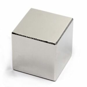 Lot 1 2 5 10 N52 Square Block Super Neodymium Rare Earth Magnetic Cube 1 Inch