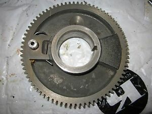 Original South Bend 9 10k Metal Lathe Headstock Spindle Bull Gear As15nk1 76t