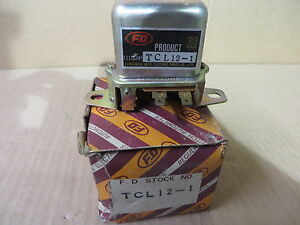 Mazda Rx2 Rx3 R100 1200 71 72 Voltage Regulator Nos Nib Tcl 12 1 Oe 36953203