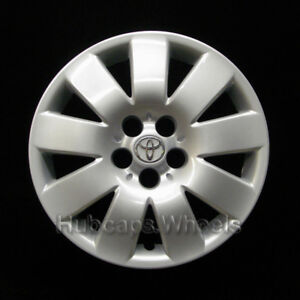 Toyota Corolla 2003 2004 Hubcap Genuine 61123 Oem 15in Wheel Cover Silver Logo