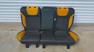 2013 Ford Focus St Leather Rear Seats
