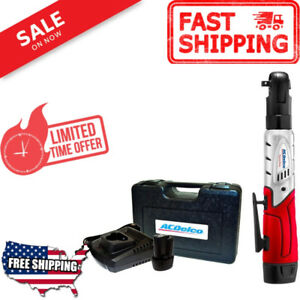 Acdelco Cordless 12v Heavy Duty 3 8 Ratchet Wrench Tool Set With Li ion Battery