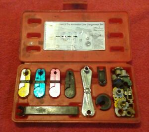Astro Pneumatic 7892 8 Piece Fuel And Transmission Line Disconnect Tool Set