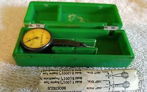 Federal Testmaster Jeweled Dial Indicator