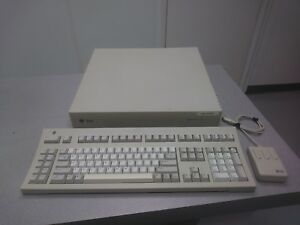Vintage Sun Microsystem Sparcstation 10 And 3 Button Mouse Keyboard