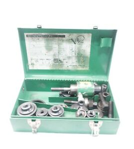 Greenlee 7646 Hydraulic Knockout Punch Driver Set
