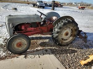 1948 Ford 8n Tractor With Blade For Gravel Road Also Works Well For Snow