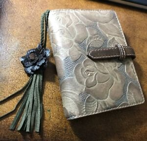 Leather Pocket Size Planner Designed And Made In Japan Only One