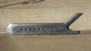 1954 1960 Plymouth Belvedere Chrome Molding