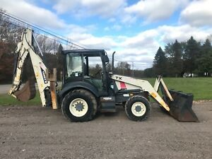 2004 Terex Tx760b Backhoe Loader 4x4