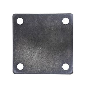 Flat Square Steel Metal Base Plate 5 X 5 X 1 4 Thickness 3 8 Hole Qty 4