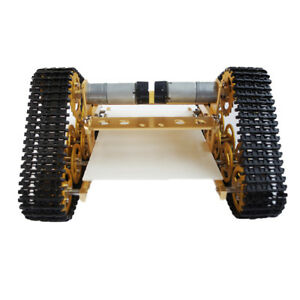 All Metal Robot Tank Crawler Chassis For Arduino Smart Car High Power Motor