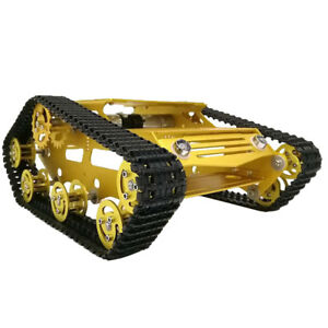 Metal Robot Tank Crawler Chassis For Arduino Smart Car With High Power Motor