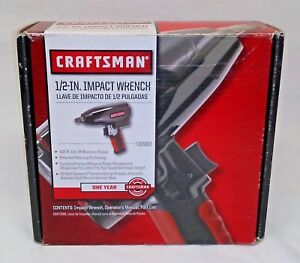 Craftsman 1 2 In Impact Wrench 19983 Free Shipping