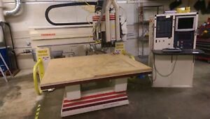 Thermwood Cnc Router 3 axis 5x5 Table Hand Held Programmer W Vacuum Pump