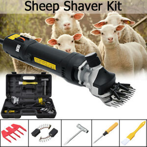 Us 110v Sheep Shears Goat Clippers Animal Shave Grooming Farm Livestock Supplies