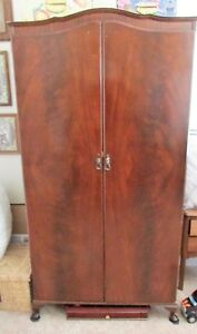 Beithcraft Vintage Armoire Wardrobe Mahogany Color