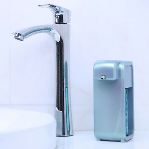 Wall Mounted Countertop Automatic Soap Dispenser Touch free Sensor Green