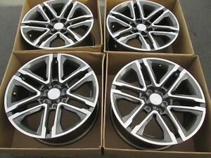 18 Chevy Colorado Wheels Rims Set 4 2018 Summit Clean Tpms Caps Complete Canyon
