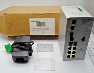 Comnet Cnge2fe8mspoe Managed Switch 2 port Gpbs 8 Port 100mbps Pwr ethernet 53