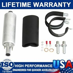 Gsl392 Universal Fuel Pump Inline 255lph Performance With Kits 400 939 Fittings