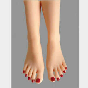 1 Pair Female Foot Display Model Sock Sox Shoes Stocking Mannequin Tool