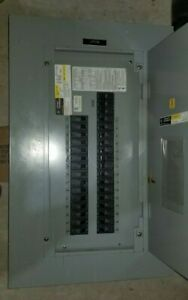 Aqf3301abx Ge A Series 125a 208y 120v 3 Phase Breaker Panel 30 Breakers Main