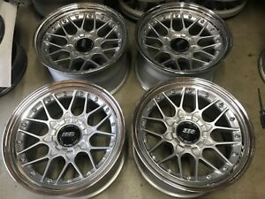 Bbs Rs2 Rsii Rs713 18x9 18x10 Custom Concave 3 piece Step Lip Conversion 5x100
