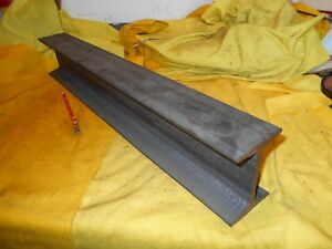 Steel I Beam Tool Die Machine Shop Stock Fab 4 Tall X 3 Wide X 25 7 8 Oal